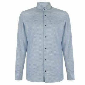 Jack and Jones Jack Mens Long-sleeved shirt - Blue