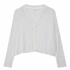 Jack Wills Levisham Lounge Cardigan - Grey