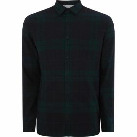 Jack and Jones Long-sleeved shirt by JACK & JONES - Dark Green