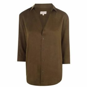Jack Wills Southcote Casual Shirt - Khaki