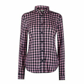 Jack Wills Tilly Check Shirt - Pale Pink