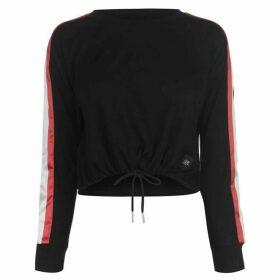 Sixth June Taping Long Sleeve T Shirt - Black