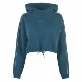 Fabric Boxy OTH Hoodie Ladies - Blue
