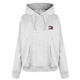 Tommy Jeans Hilfiger Badge Hoodie - Grey