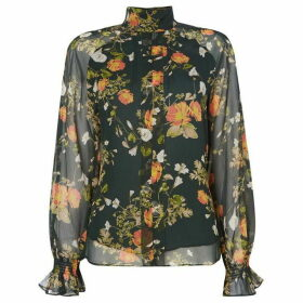 Lauren by Ralph Lauren Ratana floral shirt - Green