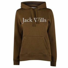 Jack Wills Hunston Heritage Hoodie - Olive