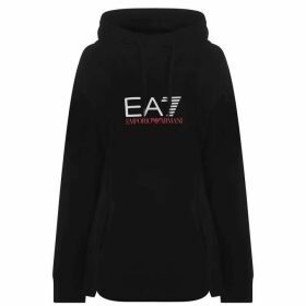 EA7 Shiny OTH Hoodie - Black 1200