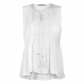 SoulCal SoulCal Lace Blouse Ladies - White