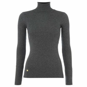 Lauren by Ralph Lauren Amanda turtle neck sweater - Dark Grey