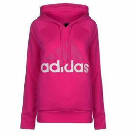adidas Linear OTH Hoody Ladies - Magenta/White