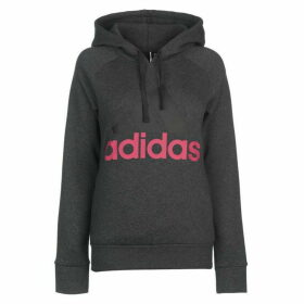 adidas Linear OTH Hoody Ladies - Drk Grey Heath