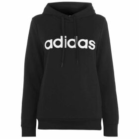 adidas Linear OTH Hoodie Ladies - Black/White