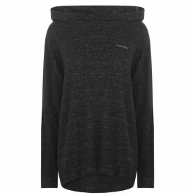 Calvin Klein Long Sleeve Hecci Hoodie - BLACK HECCI