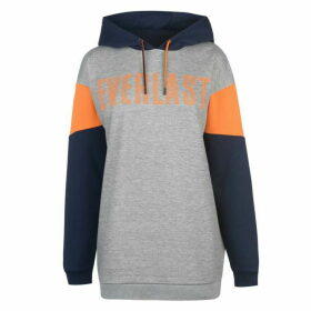 Everlast Cut and Sew OTH Hoodie Ladies - Nvy/Grey/Orange