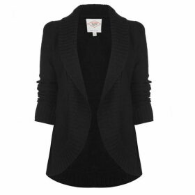 Lee Cooper Open Cardigan Ladies - Black