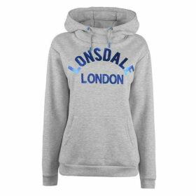 Lonsdale OTH Hoodie Ladies - Grey
