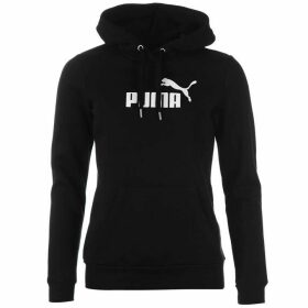 Puma No1 Logo Ladies Hoody - Black/White