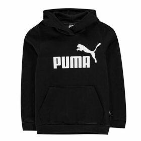 Puma Logo Hoodie - Black/White