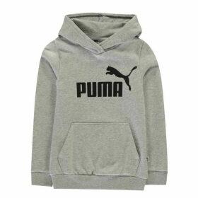 Puma Logo Hoodie - Grey