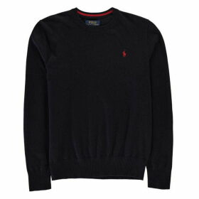 Ralph Lauren Ralph Small Cotton Crew Neck - Navy