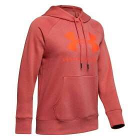 Under Armour Rival OTH Hoodie Ladies - Pink