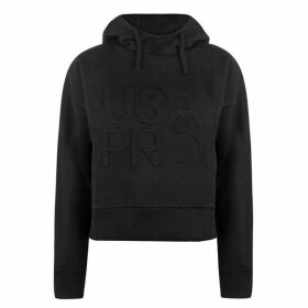 USA Pro Crop OTH Hoodie Ladies - Black