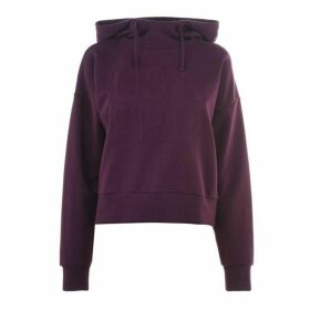 USA Pro Crop OTH Hoodie Ladies - Purple