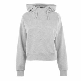 USA Pro Crop OTH Hoodie Ladies - Grey Marl