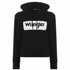 Wrangler Logo OTH Hoodie - Black