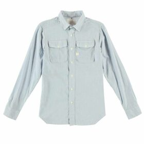 G Star Landoh Army Long Sleeve Shirt - dk bleached