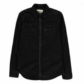 G Star Landoh Long Sleeve Shirt - dk aged