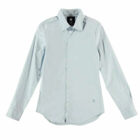 G Star Core Long Sleeve Shirt - ash blue