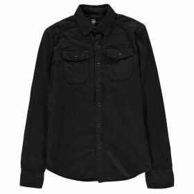 G Star Landoh Long Sleeve Shirt - black