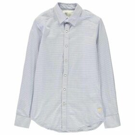 G Star Landoh Clean Long Sleeve Shirt - aircraft/white