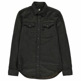 G Star Tacoma Long Sleeve Shirt - asfalt