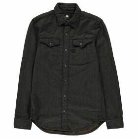 G Star Tacoma Long Sleeve Shirt - asfalt