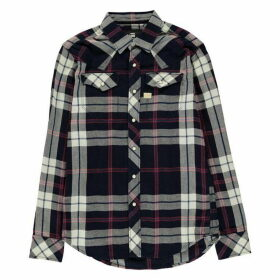 G Star Tacoma Long Sleeve Shirt - indigo/dk baron