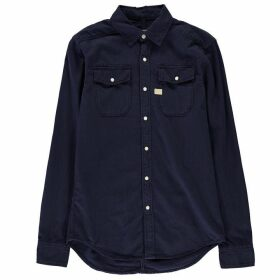 G Star Landoh Long Sleeve Shirt - sartho blue