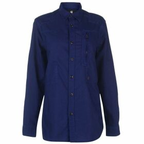 G Star Powel Long Sleeve Shirt - bright prince b