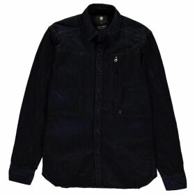 G Star Raw Powel Long Sleeve Shirt - Blue