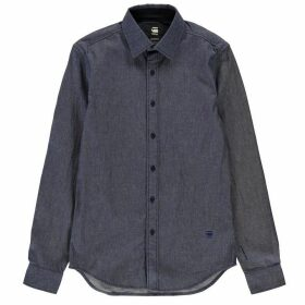 G Star Core Denim Long Sleeve Shirt - raw denim