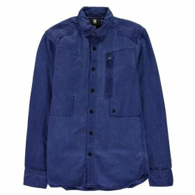G Star Powel Long Sleeve Shirt - prince blue/bri