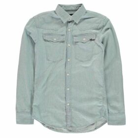 G Star 3301 Long Sleeve Shirt - lt aged bleache