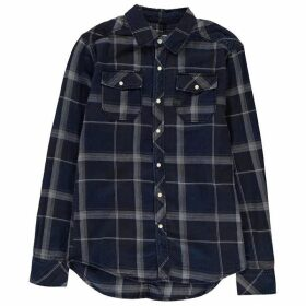 G Star Landog Long Sleeve Shirt - black indigo/lt