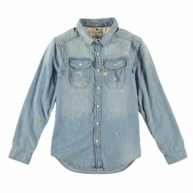 G Star Wolker Long Sleeve Shirt - lt aged restore