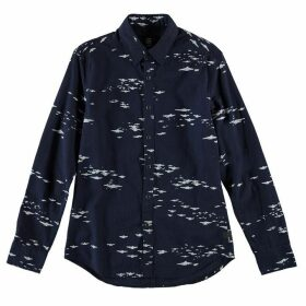 G Star Landoh Clean Long Sleeve Shirt - rinsed/milk AO