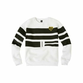 G Star Junior Girl Sweat Shirt White - WHITE