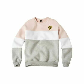 G Star Junior Girl Sweat Shirt China Grey - CHINA GREY