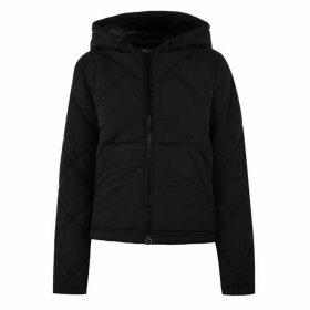 Noisy May Malcolm Padded Jacket - Black