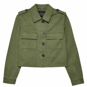 Jack Wills Highbury Utility Jacket - Olive